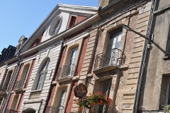 Hôtel - English:   Dieppe (France, Normandy) historic building 174 Grande Rue