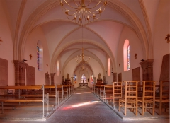 Eglise de Brasse  , actuellement chapelle du cimetière - French photographer