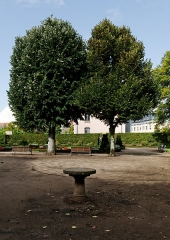 Square Emile Lechten, anciennement square Jean-Jaurès - French photographer