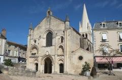 Ancienne abbaye Saint-Pierre - Français:   Église abbatiale saint-Pierre Airvault Desux-Sèvres France