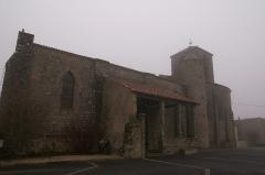 Eglise de Saint-Sauveur-de-Givre-en-Mai - Français:   Église de Saint-Sauveur-de-Givre-en-Mai à Bressuire.