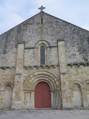 Eglise Saint-Chartier de Javarzay - This building is indexed in the Base Mérimée, a database of architectural heritage maintained by the French Ministry of Culture, under the reference PA00101217 .