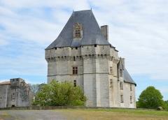 Château - Français:   Château de Cherveux
