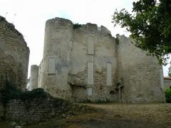 Ruines du château de Mursay - Français:   Tours du château de Mursay, à Échiré (Deux-Sèvres, France)