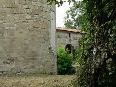 Ruines du château de Mursay - Français:   Communs du château de Mursay, à Échiré (Deux-Sèvres, France)