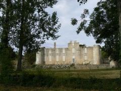 Ruines du château de Mursay - Français:   Château de Mursay, à Échiré (Deux-Sèvres, France), du côté de la Sèvre