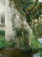 Ruines du château de Mursay - Français:   Tour du château de Mursay, à Échiré (Deux-Sèvres, France)