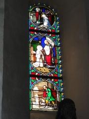Eglise Saint-Hilaire - English: Église Saint-Hilaire de Melle, vitrail 02