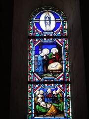 Eglise Saint-Hilaire - English: Église Saint-Hilaire de Melle, vitrail 14