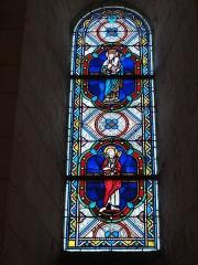 Eglise Saint-Hilaire - English: Église Saint-Hilaire de Melle, vitrail 17