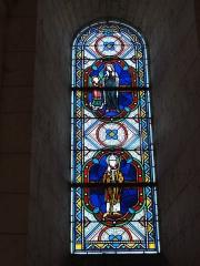 Eglise Saint-Hilaire - English: Église Saint-Hilaire de Melle, vitrail 16