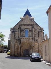 Ancienne église Saint-Savinien - English: Église Saint-Savinien de Melle