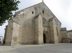 Eglise Saint-Maixent - Français:   Église Saint-Maixent de Prahecq