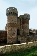 Château - Français:   Château de Sanzay