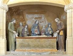 Eglise Saint-Laon - Français:   Mise au tombeau dans la chapelle Marguerite d\'Ecosse - Église Saint-Laon de Thouars - Deux-Sèvres