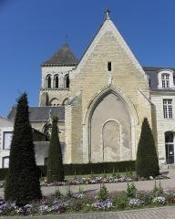 Eglise Saint-Laon - Français:   Extérieur de l\'abbatiale Saint-Laon de Thouars (86). Chevet.