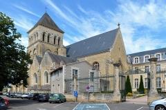 Eglise Saint-Laon - Église Saint-Laon de Thouars - Deux-Sèvres