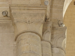 Eglise Saint-Laon - Français:   Intérieur de l\'abbatiale Saint-Laon de Thouars (79).