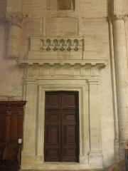 Eglise Saint-Laon - Intérieur de l'abbatiale Saint-Laon de Thouars (79).