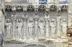 Eglise Saint-Médard - Français:   Portail principal de l\'église Saint-Médard de Thouars - Deux-Sèvres