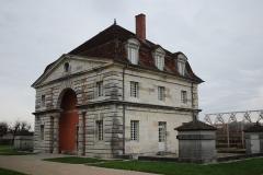 Ancienne saline royale, actuellement Fondation Claude-Nicolas Ledoux - Bâtiment de la gabelle de la saline royale d'Arc-et-Senans.