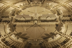Ancienne saline royale, actuellement Fondation Claude-Nicolas Ledoux - Français:   Maquette de la cité idéale de Chaux imaginée par Claude Nicolas Ledoux, à la saline royale d\'Arc-et-Senans.