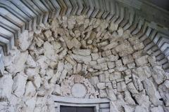 Ancienne saline royale, actuellement Fondation Claude-Nicolas Ledoux - Portail d'entrée de la saline royale d'Arc-et-Senans.