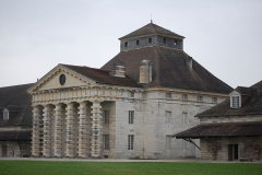 Ancienne saline royale, actuellement Fondation Claude-Nicolas Ledoux - Maison du directeur de la saline royale d'Arc-et-Senans.