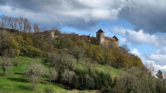 Château (ensemble du) - This building is indexed in the Base Mérimée, a database of architectural heritage maintained by the French Ministry of Culture,under the reference PA00101450 .