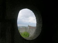 Citadelle - Fortifications édifiées par Vauban, la citadelle de Besançon(tour du roi) vue depuis la tour de la reine de cette même citadelle