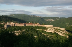 Citadelle - English: The citadel of Besançon, France (Franche-Comté) - Miltary architect Sébastien Le Prestre de Vauban.