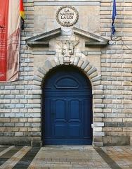 Hôtel de ville - English: Portal of Former town hall of Besançon, France