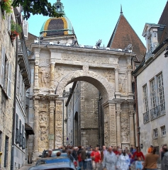 Porte Noire - Français:   La Porte Noire, arc de triomphe de Besançon