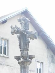 Croix de chemin - Français:   Croix de chemin de Bief, à Bief (Doubs)