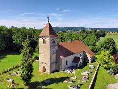 Eglise de Leugney - Français:   Église de la Nativité-de-la-Vierge de Leugney