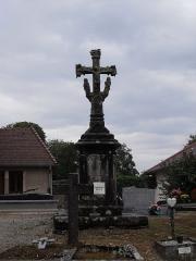 Calvaire du cimetière - Français:   Calvaire du cimetière de Chaucenne, Doubs, France