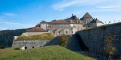 Château de Joux - Français:   La château de Joux.