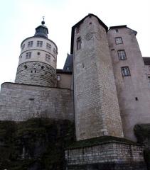 Château - Château de Montbéliard, Montbéliard, Doubs, Franche-Comté, FRANCE