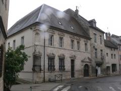 Hôtel Sanderet de Valonne - Français:   Hôtel Sanderet de Valonne