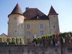 Château Pécaud et Tour Velfaux - Français:   Château Pécaud et Tour Velfaux en Arbois (39)