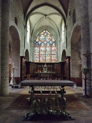 Eglise Saint-Just - English: Sight of the Saint-Just d'Arbois church altar, in Arbois, Jura, France.