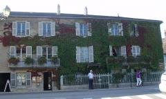Maison paternelle de Pasteur - Maison paternelle de Pasteur (façade) en Arbois (39)