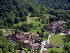 Ancienne abbaye - Commune de Baume-les-Messieurs, Jura