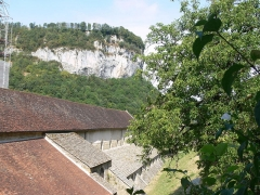 Ancienne abbaye - Baume-les-Messieurs -- abbaye