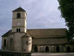 Eglise Saint-Pierre -  église de Château-Chalon - Jura (39) (France)