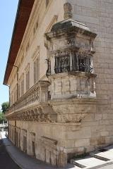 Hôtel-Dieu - Extérieur de l'Hôtel-Dieu de Dole (39).
