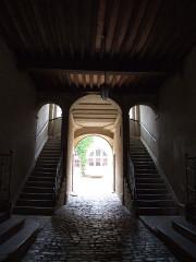 Hôtel de Froissard dit aussi hôtel de Balay - English: Staircases, Dole, Jura, FRANCE