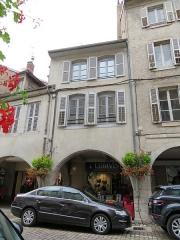 Maison - English: Lons-le-Saunier, maison, 48 rue du Commerce.