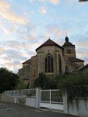 Eglise Notre-Dame de l'Assomption - English: Orgelet, église Notre-Dame de l'Assomption d'Orgelet.