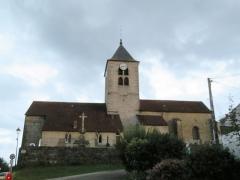 Eglise Saint-Laurent - Français:   Saint-Laurent-la-Roche, église Saint-Laurent de Saint-Laurent-la-Roche.